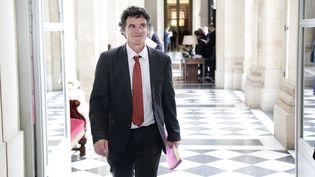 Le député du Morbihan Paul Molac à l'Assemblée nationale, à Paris, le 10 juin 2014. (MAXPPP)
