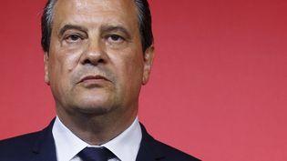 Le premier secrétaire du Parti socialiste, Jean-Christophe Cambadélis, ici à Paris en juin, doit officiellement quitter ses fonctions le 30 septembre 2017. (GEOFFROY VAN DER HASSELT / AFP)