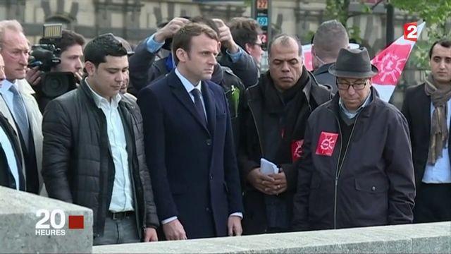 L'hommage très politique d'Emmanuel Macron à Brahim Bouarram