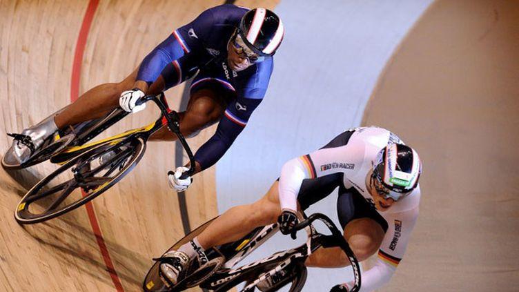 Grégory Baugé, champion du monde de cyclisme sur piste.