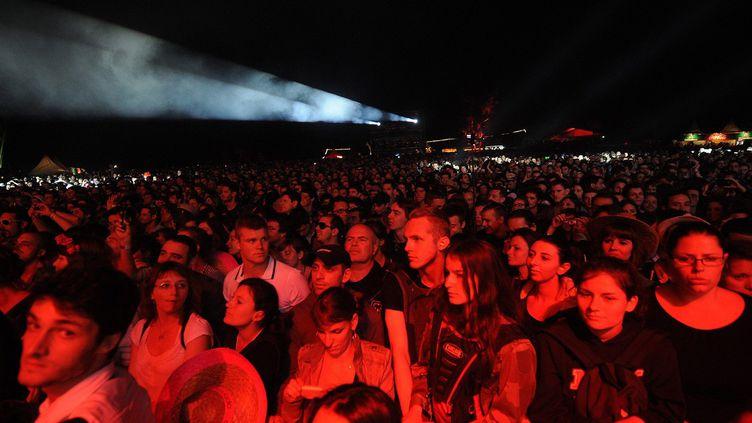 Le public des Eurockéennes de Belfort, le jour d'ouverture du festival en juillet 2013  (POL EMILE/SIPA)