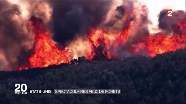 États-Unis : de violents feux de forêts ravagent l'ouest et le sud du pays