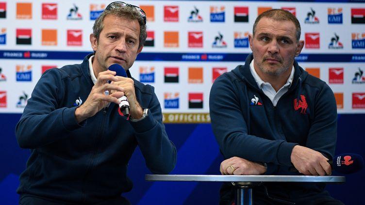 Fabien Galthié a annoncé son XV de départ pour France-Pays de Galles (ANNE-CHRISTINE POUJOULAT / AFP)
