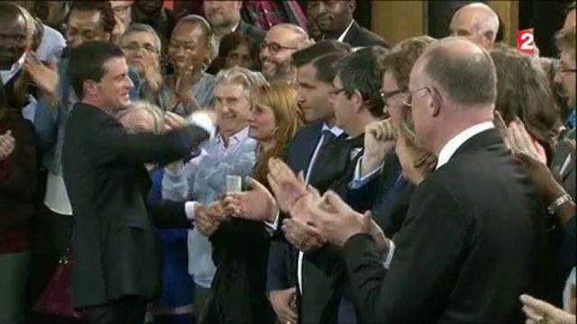 """Manuel Valls : """"Je suis candidat à la présidence de la République"""""""