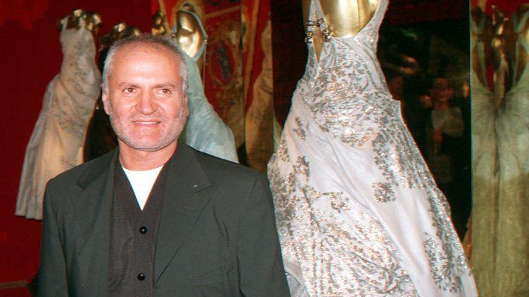 Gianni Versace en Allemagne, septembre 1994  (PEER GRIMM / DPA)