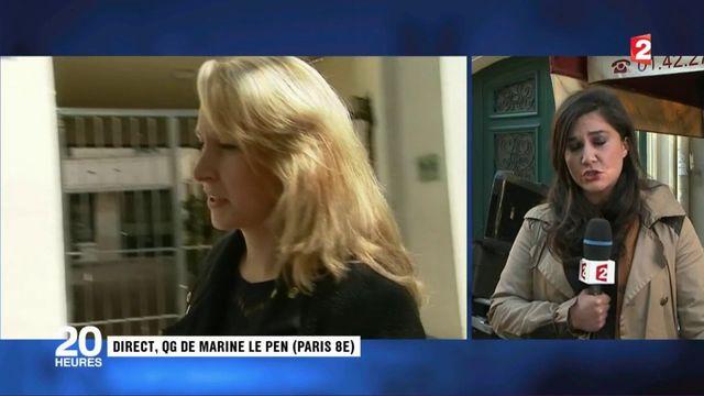 Marine Le Pen a tenté de dissuader sa nièce de s'écarter de la vie politique