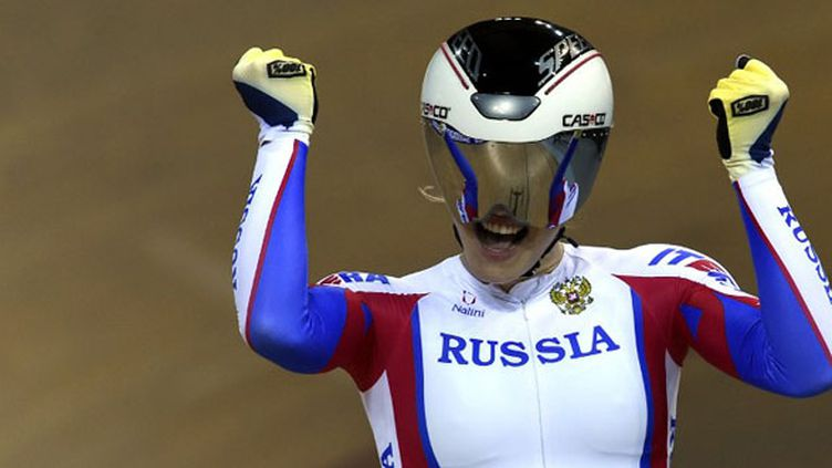 La Russe Anastasia Voynova (LOIC VENANCE / AFP)