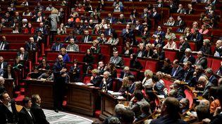 A l'Assemblée nationale, à Paris, le 11 décembre 2018. (THOMAS SAMSON / AFP)