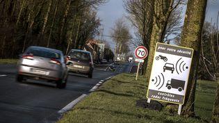 Une route à Aubigny-en-Artois, février 2016 (illustration) (PHILIPPE HUGUEN / AFP)