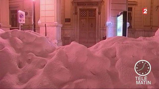 neige italie