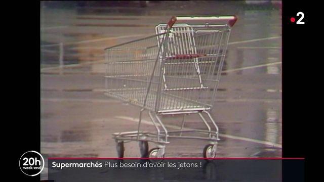 Supermarchés : plus besoin d'avoir les jetons !