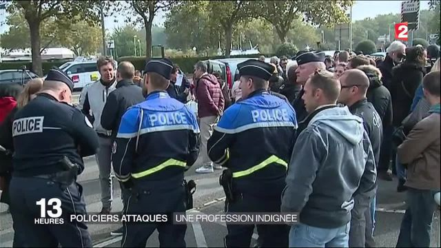 Policiers attaqués : une profession indignée