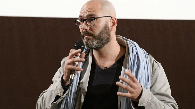 """François Devaux, président de l'association """"La parole libérée"""" à Lyon, le 6 avril 2019. (JOEL PHILIPPON / MAXPPP)"""