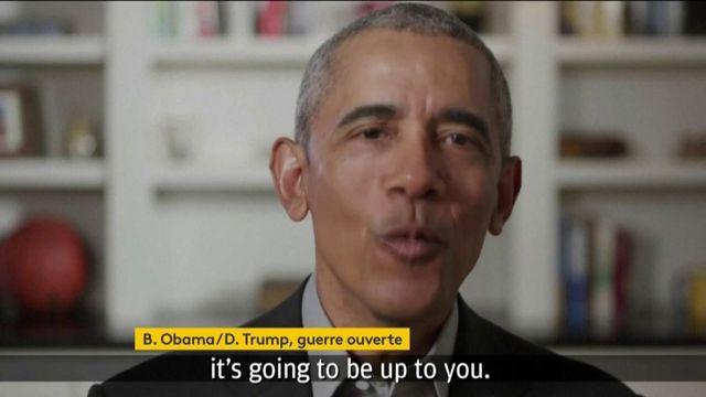 Etats-Unis : guerre ouverte entre Obama et Trump