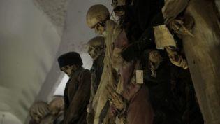 Les catacombes de Palerme, en Sicile (Italie), abritent près de 9 000 momies, exposées à l'air libre. (CAPTURE D'ÉCRAN FRANCE 3)