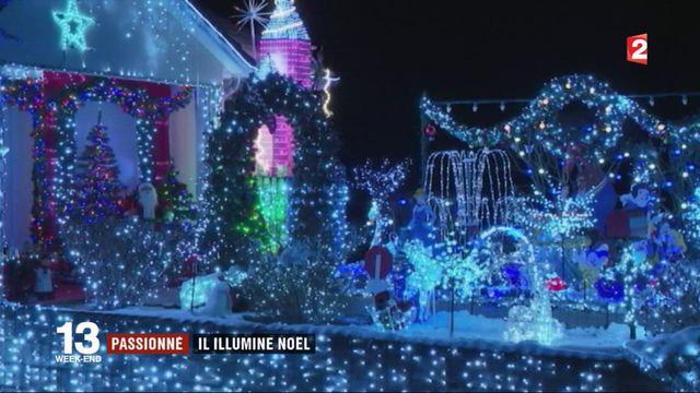 Illuminations de Noël : un passionné ouvre son jardin aux visiteurs