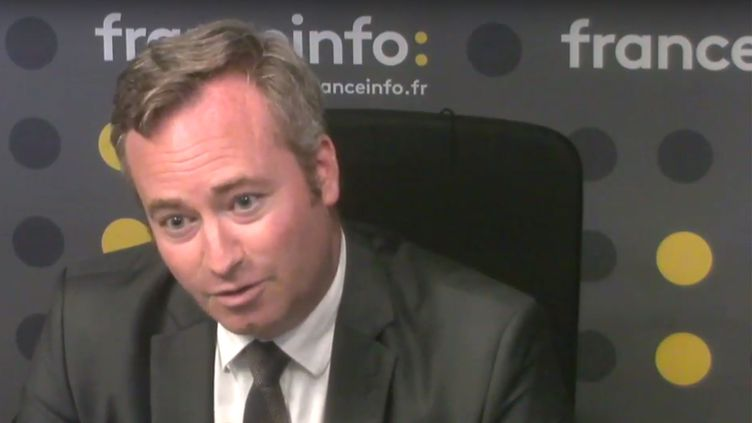 Jean-BaptisteLemoyne, secrétaire d'État auprès du ministre de l'Europe et des Affaires étrangères. (FRANCEINFO)