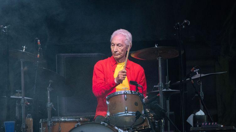 """Charlie Watts était un """"fantassin du rock, un humble soldat de la batterie, les gens l'adoraient"""", réagit Philippe Manoeuvre après la mort du batteur des Rolling Stones (PAUL ZINKEN / DPA)"""