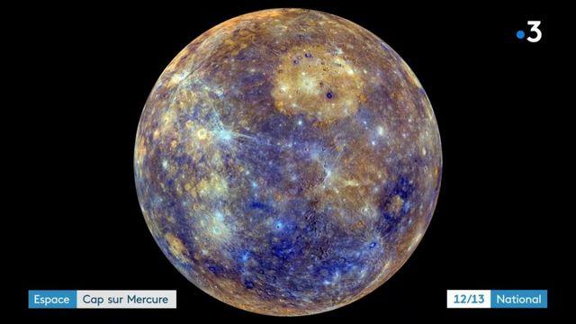 Espace : lancement d'une mission vers Mercure