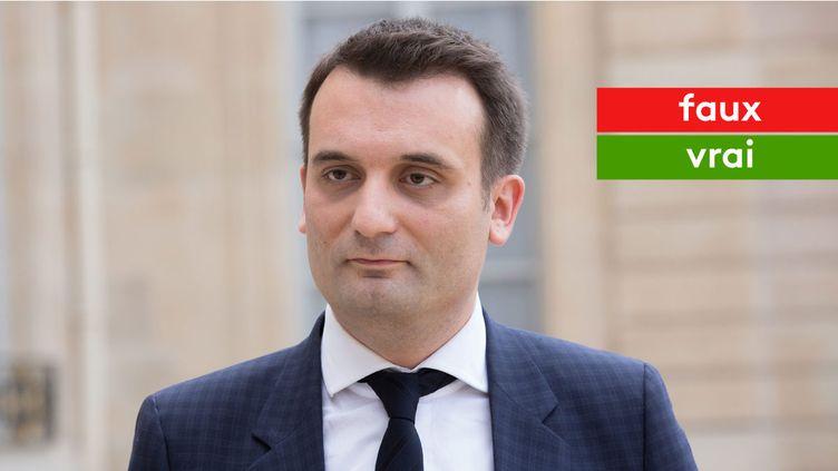 Florian Philippot affirme qu'un pays ne peut pas interdire les OGM à cause de l'Union européenne (MAXPPP)