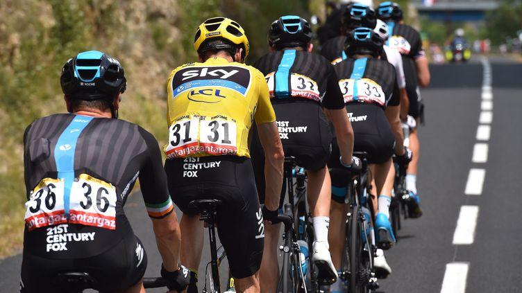Tension autour de l'équipe Sky sur le Tour de France (DE WAELE TIM / TDWSPORT SARL)