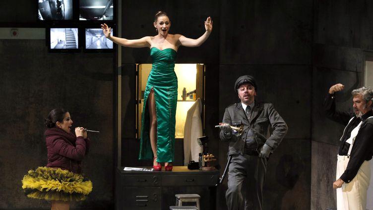 """""""La Chauve-souris"""" de Strauss à l'Opéra Comique  (FRANCOIS GUILLOT / AFP)"""