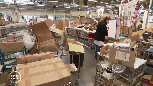 Déconfinement : en Seine-Maritime, l'usine de Lucibel reprend son activité