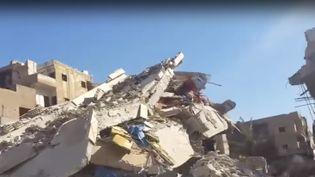 Le centre-ville de Raqqa, le 19 octobre 2017. (OMAR OUAHMANE / RADIO FRANCE)