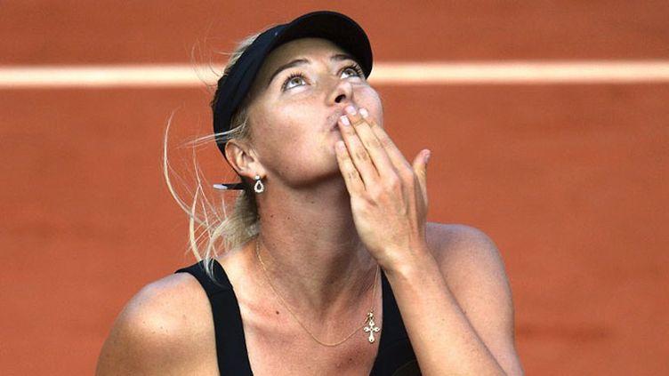 Le bonheur de Maria Sharapova