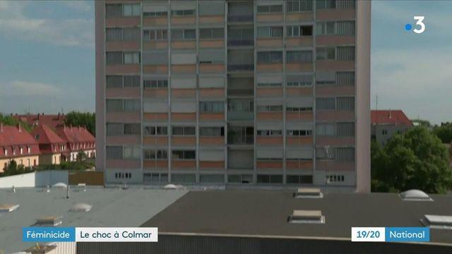 Colmar : une femme défenestrée du 8e étage par son compagnon