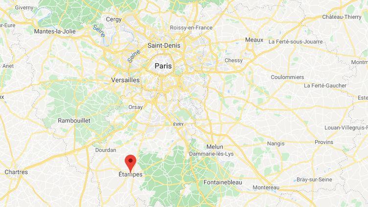 Étampes (Essonne). (GOOGLE MAPS)