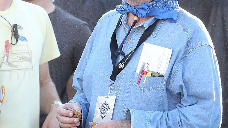 Le réalisateur américain Terrence Malick à Austin, au Texas,en novembre 2012. (GARY MILLER / FILMMAGIC)