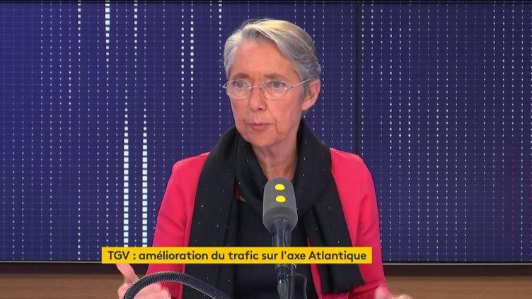 Elisabeth Borne, ministre de la Transition écologique et solidaire. (FRANCEINFO / RADIOFRANCE)