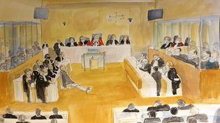 La cour d'assises spéciale de Paris a rendu,le 16décembre 2020, son verdict au procèsdes attentats de janvier 2015.  (MARIE WILLIAMS / AFP)