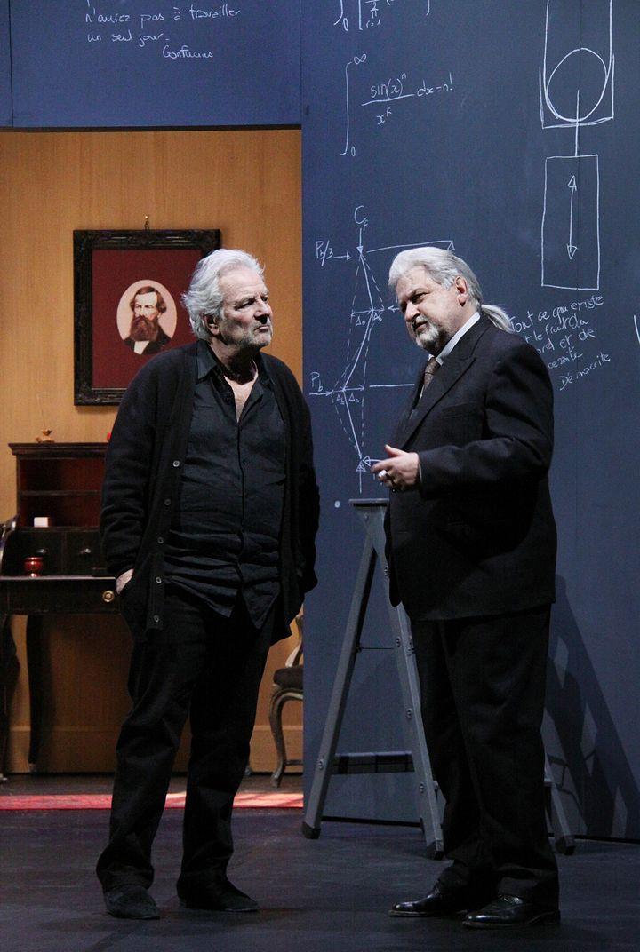 Pierre Arditi et Didier Bezace  (Hervieux)