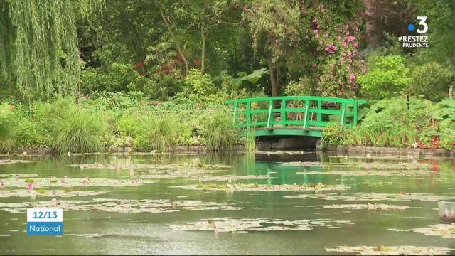 Giverny : les jardins de Claude Monnet rouverts au public