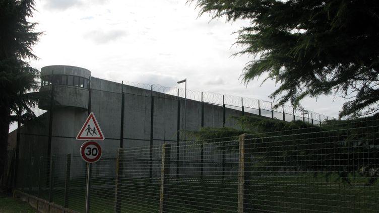 La maison d'arrêt de Bois d'Arcy (Yvelines), en 2012. (D'ORNELLAS MARIE / MAXPPP)