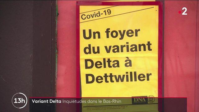 Covid-19 : l'inquiétude autour du foyer de contamination au variant Delta découvert dans le Bas-Rhin