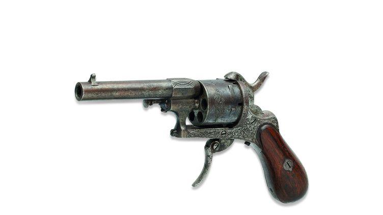 C'est avec ce revolver de calibre 7mm que Verlaine a failli tuer Rimbaud (Christie's Images Ltd. 2016)