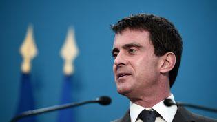 Le premier ministre Manuel Valls à Rennes, le 19 décembre 2014. (DAMIEN MEYER / AFP)