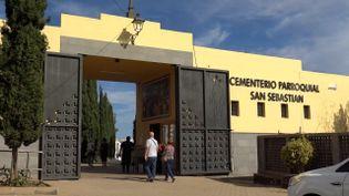 Le cimetière de San Sebastien, sur l'île de Grande Canarie. (GILLES GALLINARO / RADIO FRANCE)