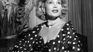 """Zsa Zsa Gabor, sur le tournage de """"Moulin Rouge"""" de John Houston, en 1952. (RONALD GRANT / MARY EVANS / SIPA)"""