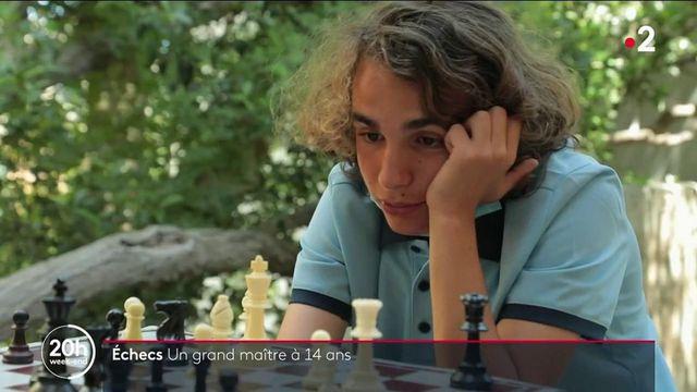 Échecs : rencontre avec Marc'Andria Maurizzi, grand maître international à seulement 14 ans