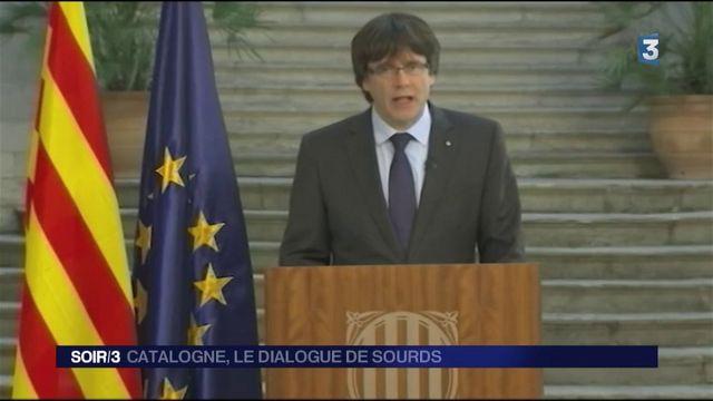 Catalogne : le dialogue de sourds