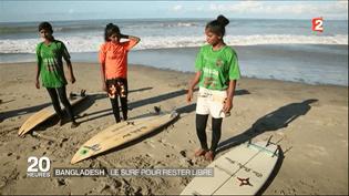 Capture d'écran d'un reportage au Bangladesh. (FRANCE 2)