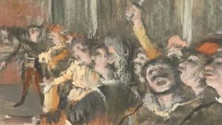 """Les Choristes"",œuvre de l'artisteEdgar Degas. (FRANCE 2)"