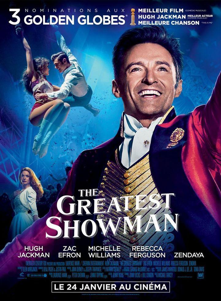 """""""The Greatest Showman"""" l'affiche française  (Twentieth Century Fox France)"""