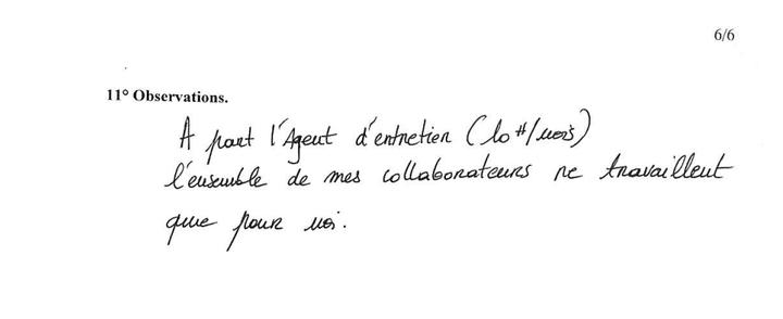 Un extrait de la déclaration d'intérêts du député socialiste François Brottes, publiée le 24 juillet 2014. (HAUTE AUTORITE POUR LA TRANSPARENCE DE LA VIE PUBLIQUE)