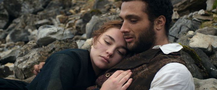 "Florence Pugh et Cosmo Jarvis dans ""The Young Lady"" de William Oldroyd  (KMBO)"