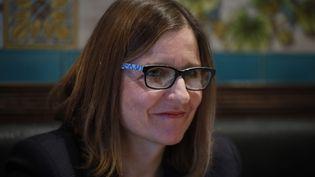 Anne Souyris, adjointe à la mairie de Paris en charge de la santé publique, le 9 janvier 2020. (OLIVIER CORSAN / MAXPPP)
